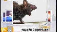老鼠鉆進褲腿 女子被迫地鐵上脫褲子