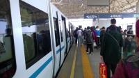[2017.2]武漢地鐵1號線 灄口新城-漢口北 運行與報站 列車出站
